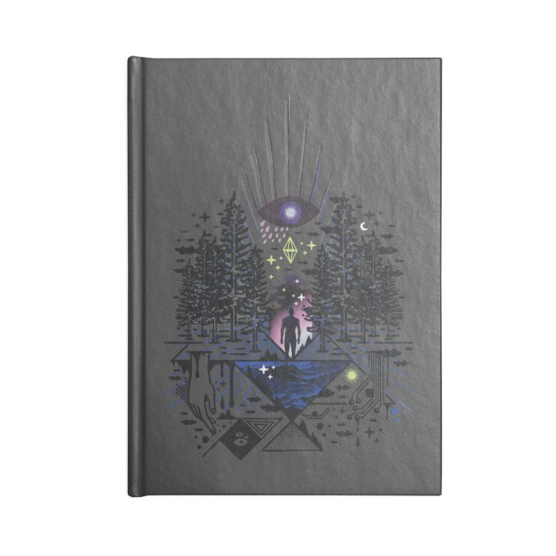 Magic Eye Accessories Notebook by ordinaryfox