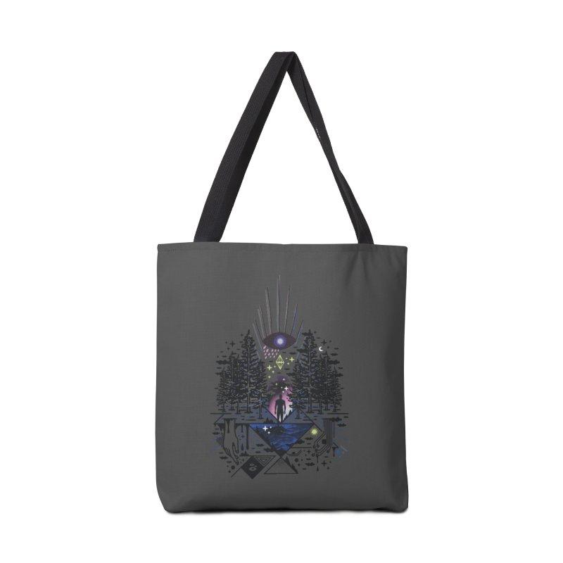 Magic Eye Accessories Bag by ordinaryfox