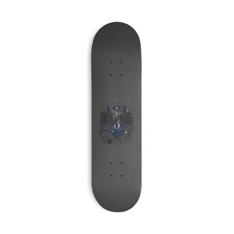 Magic Eye Accessories Skateboard by ordinaryfox