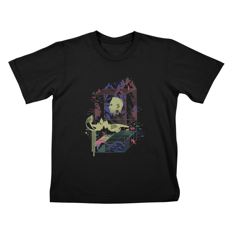 Dreamacyde Kids T-Shirt by ordinaryfox