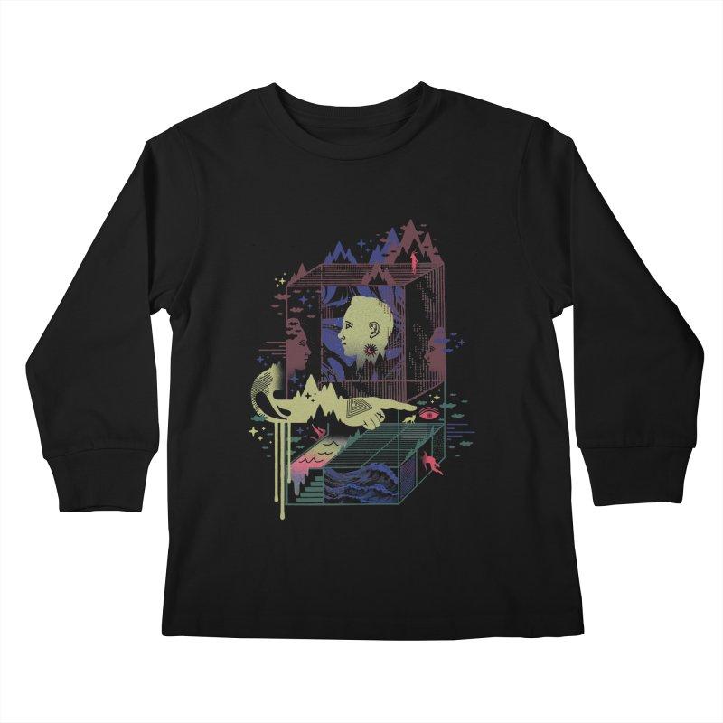 Dreamacyde Kids Longsleeve T-Shirt by ordinaryfox