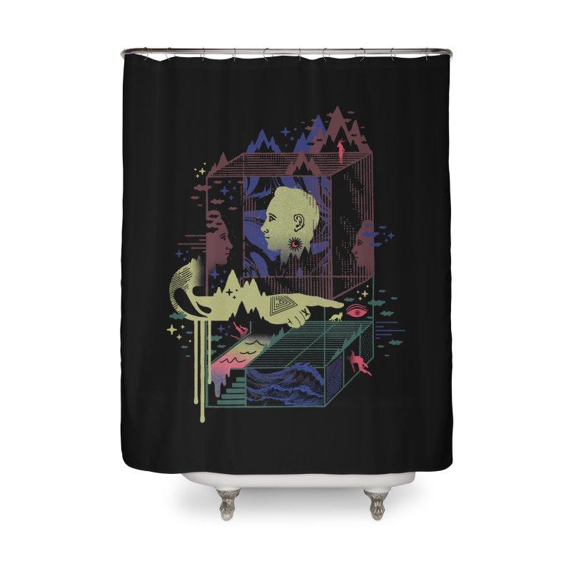 Dreamacyde Home Shower Curtain by ordinaryfox