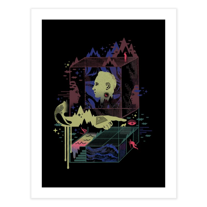 Dreamacyde Home Fine Art Print by ordinaryfox