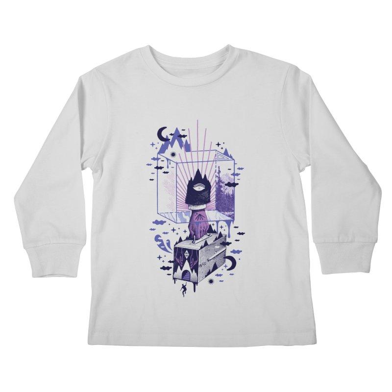 Nonsensical Kids Longsleeve T-Shirt by ordinaryfox