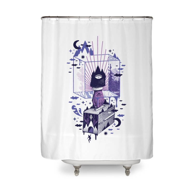 Nonsensical Home Shower Curtain by ordinaryfox