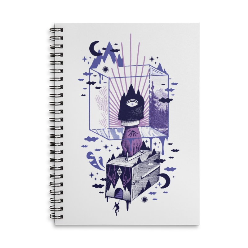 Nonsensical Accessories Notebook by ordinaryfox