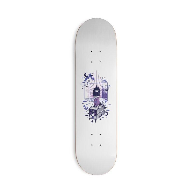 Nonsensical Accessories Skateboard by ordinaryfox