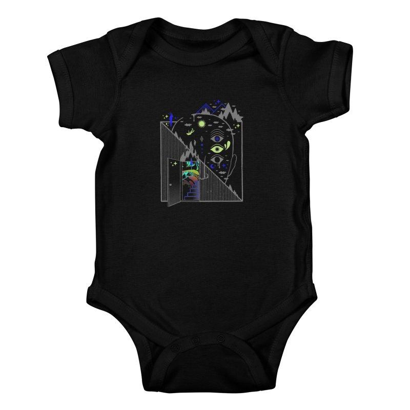 Downcast Kids Baby Bodysuit by ordinaryfox