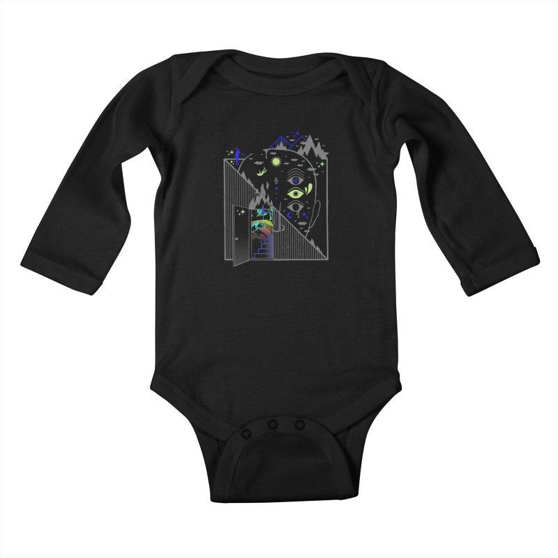 Downcast Kids Baby Longsleeve Bodysuit by ordinaryfox