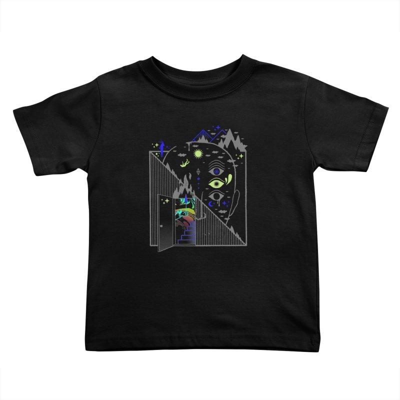 Downcast Kids Toddler T-Shirt by ordinaryfox