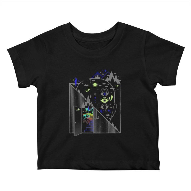Downcast Kids Baby T-Shirt by ordinaryfox