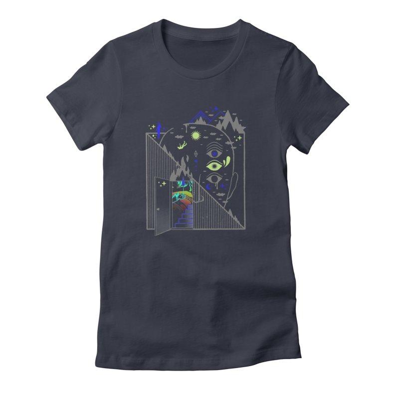 Downcast Women's T-Shirt by ordinaryfox