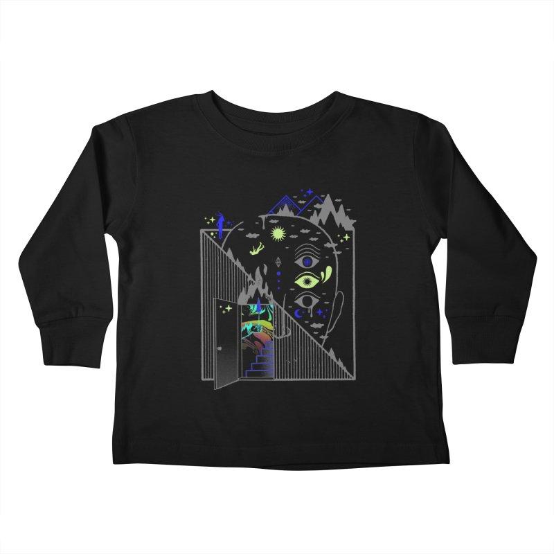 Downcast Kids Toddler Longsleeve T-Shirt by ordinaryfox
