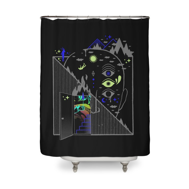 Downcast Home Shower Curtain by ordinaryfox