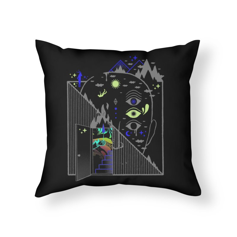 Downcast Home Throw Pillow by ordinaryfox