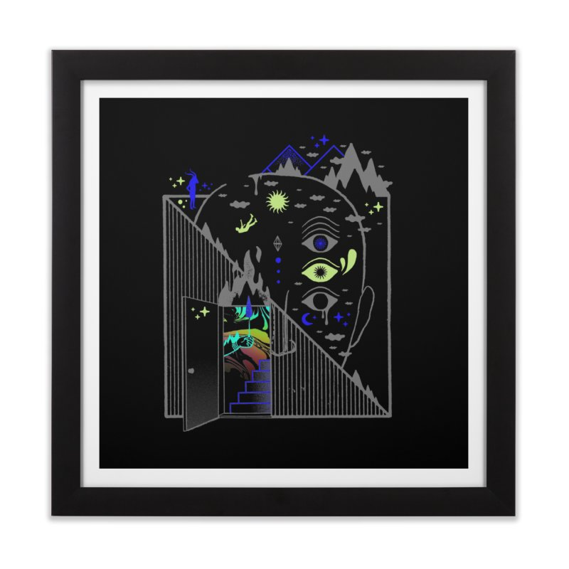 Downcast Home Framed Fine Art Print by ordinaryfox