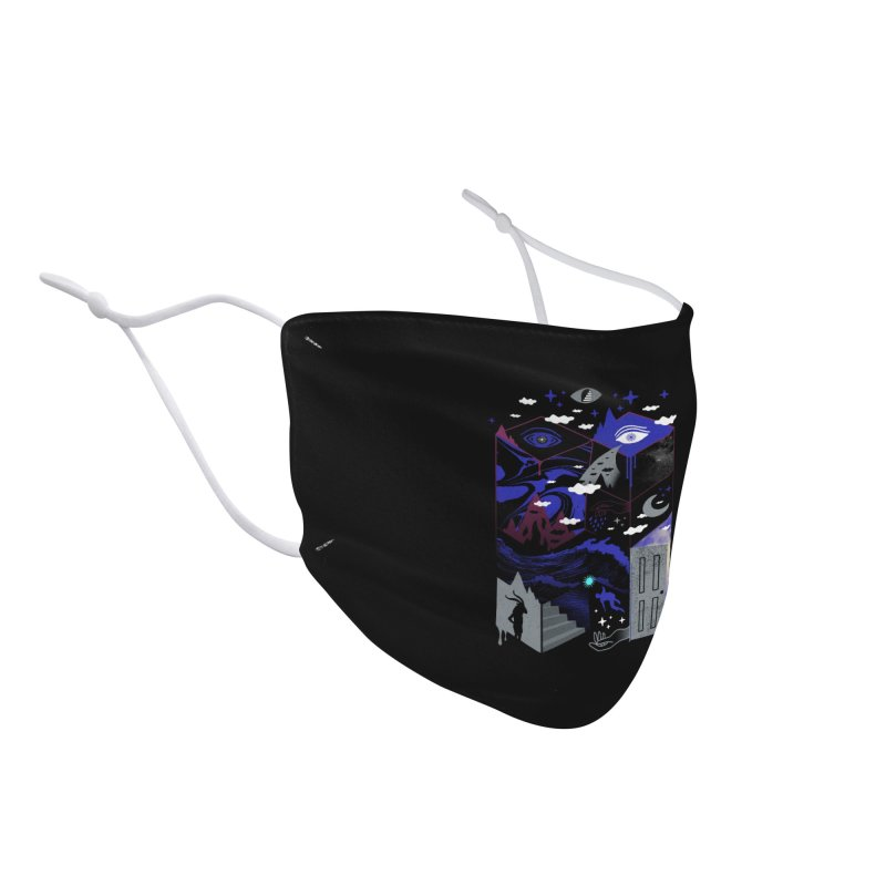 Spatial Awareness Accessories Face Mask by ordinaryfox