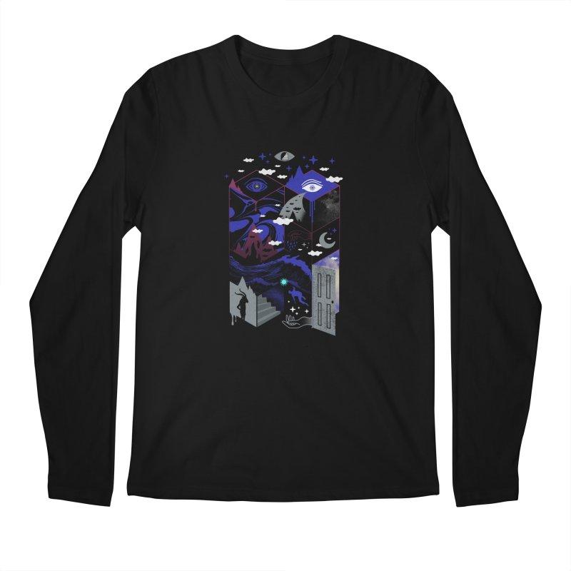 Spatial Awareness Men's Longsleeve T-Shirt by ordinaryfox