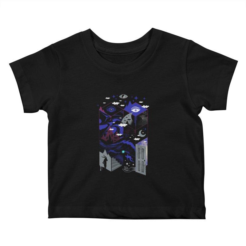 Spatial Awareness Kids Baby T-Shirt by ordinaryfox