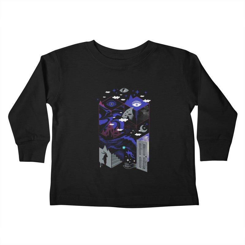Spatial Awareness Kids Toddler Longsleeve T-Shirt by ordinaryfox