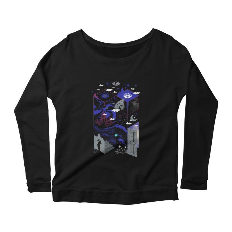 Spatial Awareness Women's Longsleeve T-Shirt by ordinaryfox