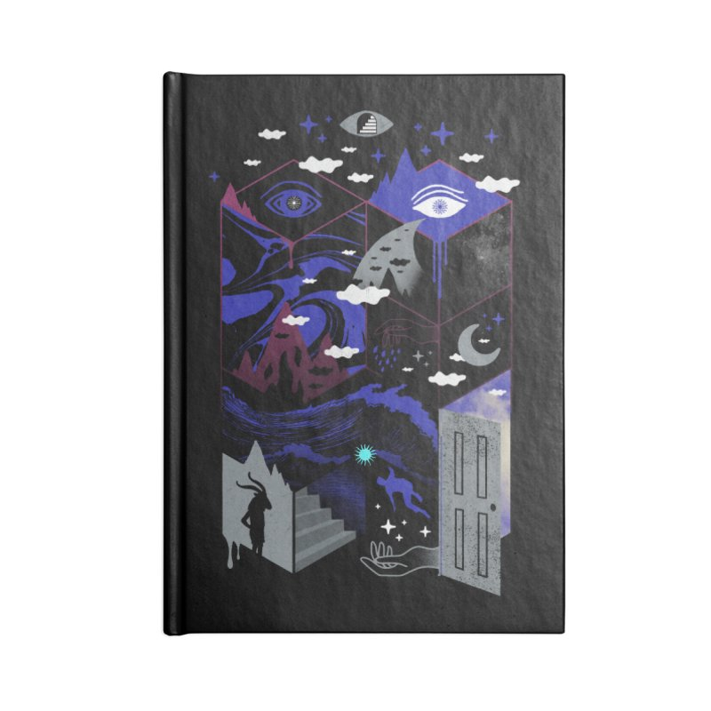 Spatial Awareness Accessories Notebook by ordinaryfox