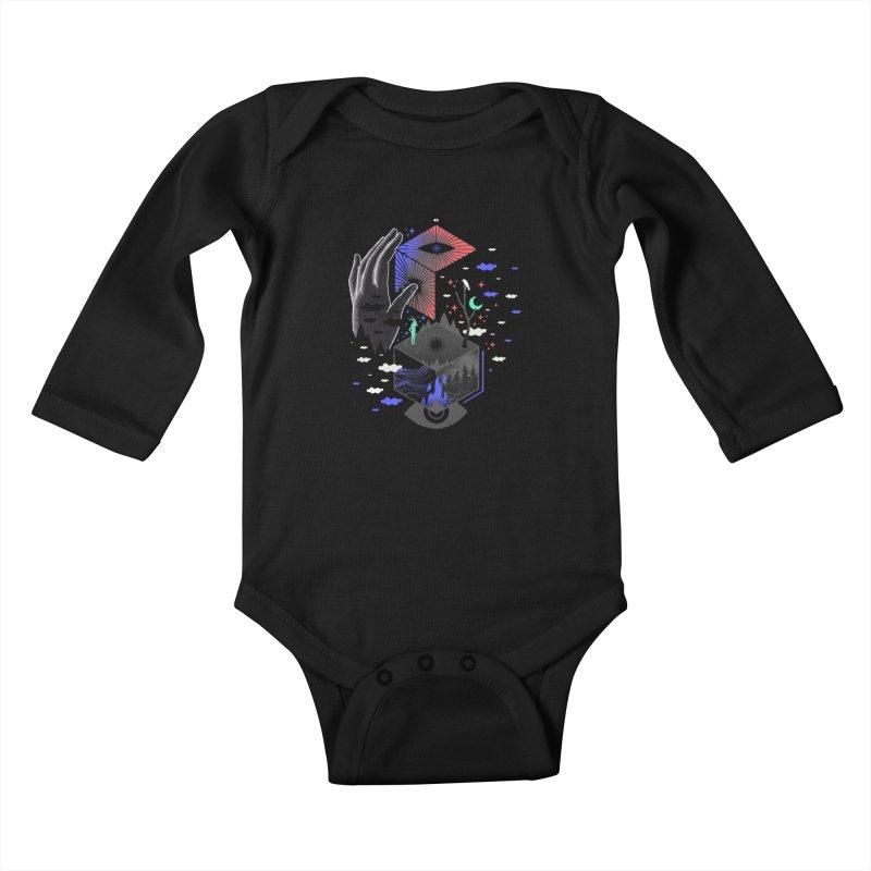 Nether Kids Baby Longsleeve Bodysuit by ordinaryfox