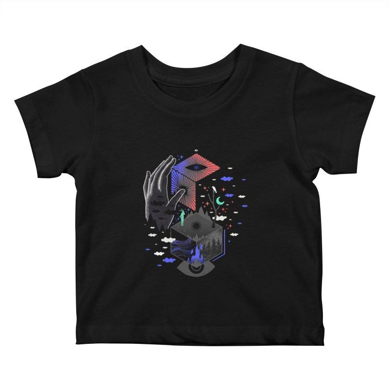 Nether Kids Baby T-Shirt by ordinaryfox