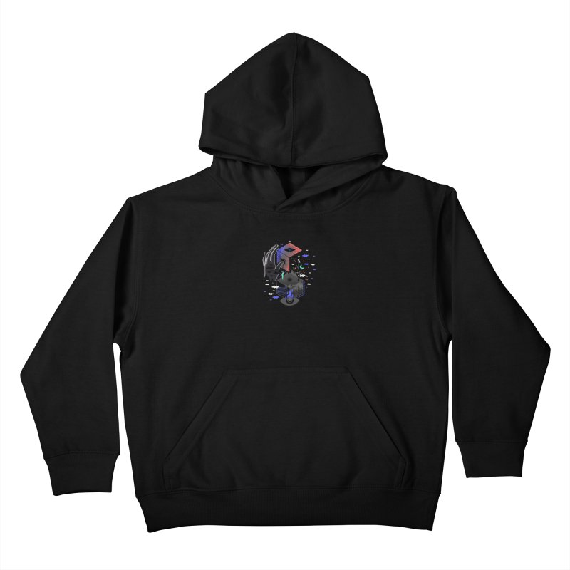Nether Kids Pullover Hoody by ordinaryfox