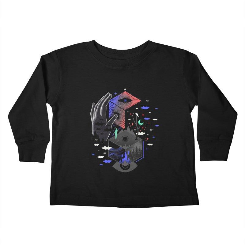Nether Kids Toddler Longsleeve T-Shirt by ordinaryfox
