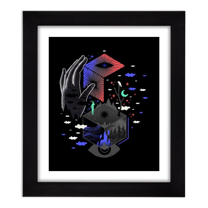 Nether Home Framed Fine Art Print by ordinaryfox
