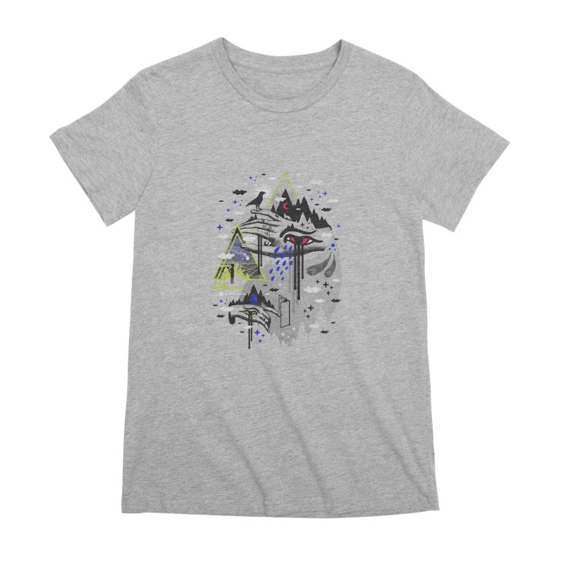Dimensional Awareness Women's T-Shirt by ordinaryfox