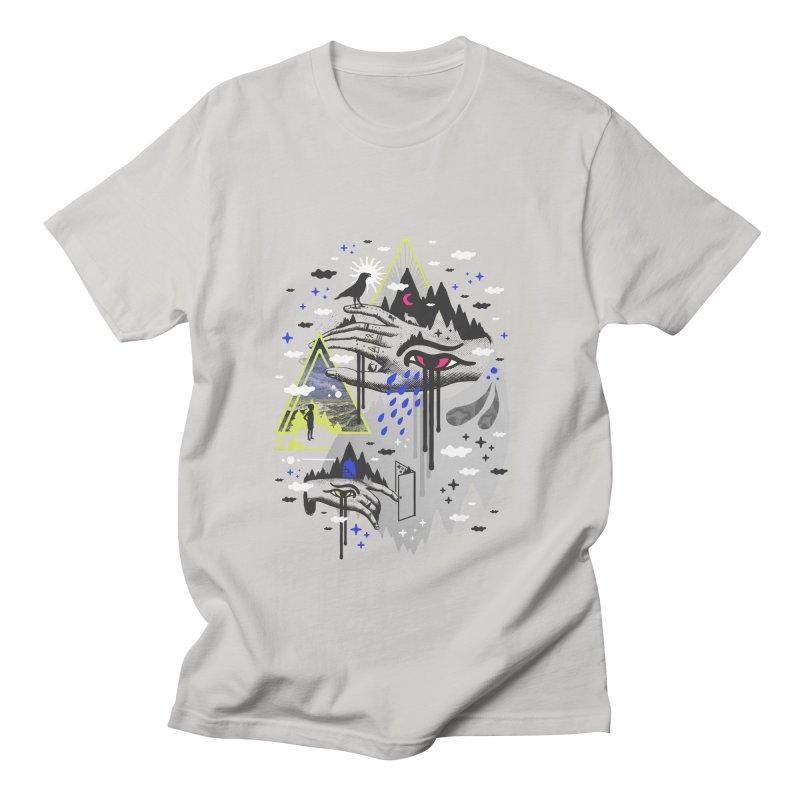 Dimensional Awareness Men's T-Shirt by ordinaryfox