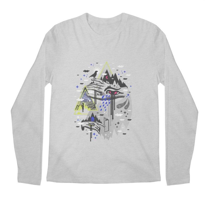 Dimensional Awareness Men's Longsleeve T-Shirt by ordinaryfox
