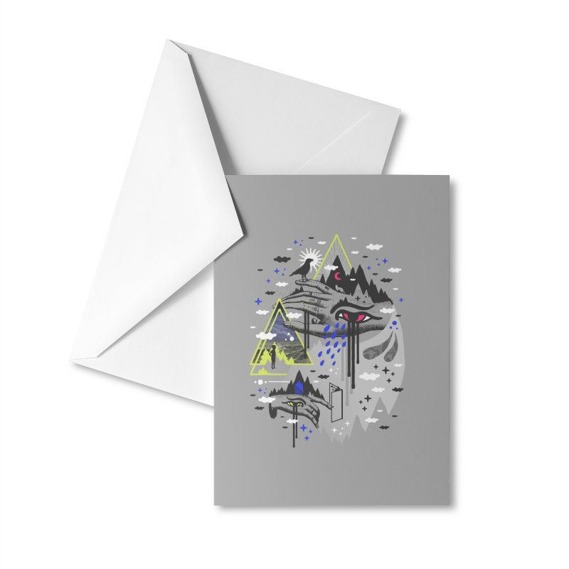 Dimensional Awareness Accessories Greeting Card by ordinaryfox
