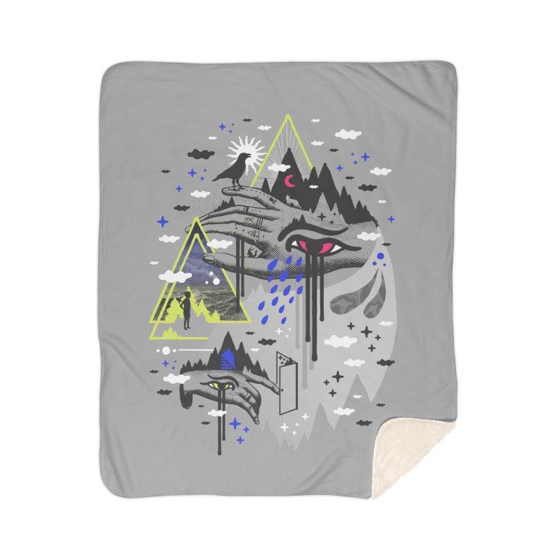 Dimensional Awareness Home Blanket by ordinaryfox