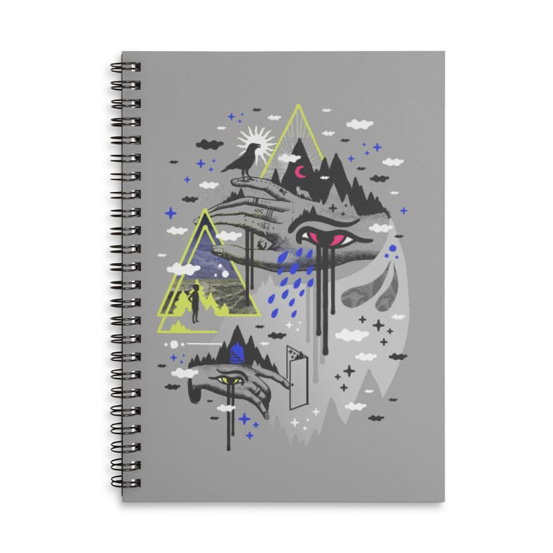 Dimensional Awareness Accessories Notebook by ordinaryfox