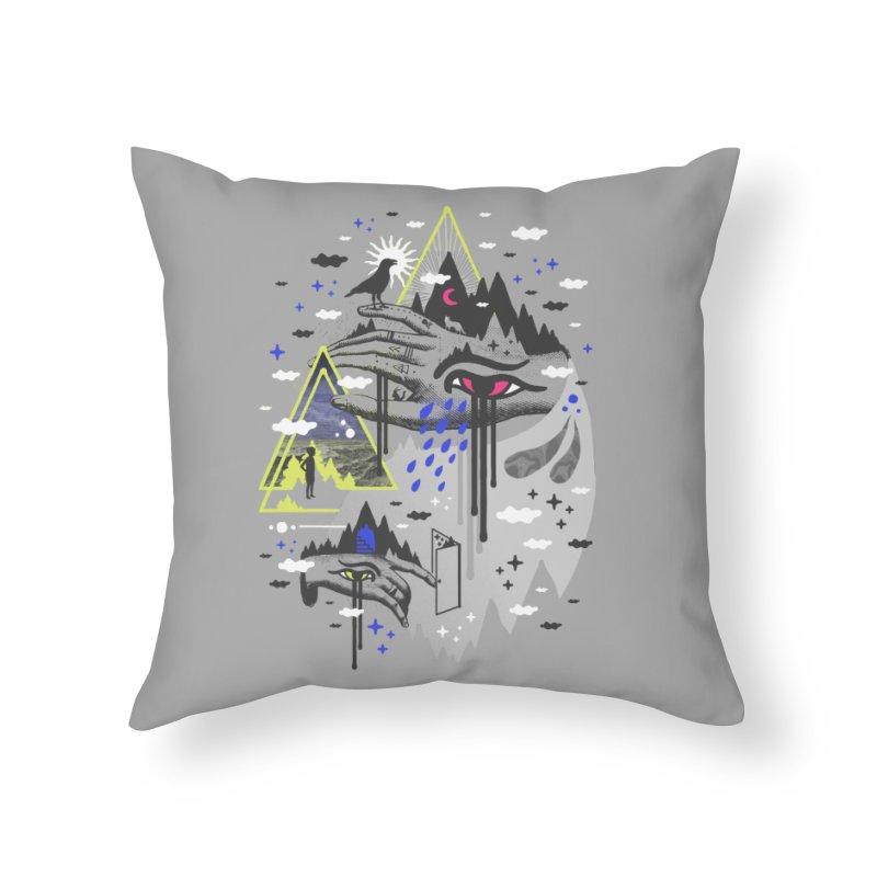 Dimensional Awareness Home Throw Pillow by ordinaryfox