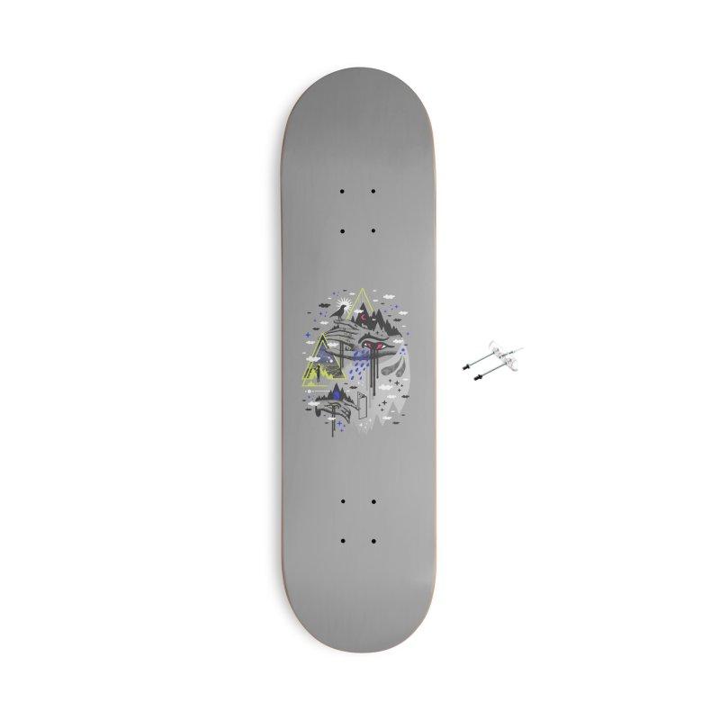 Dimensional Awareness Accessories Skateboard by ordinaryfox