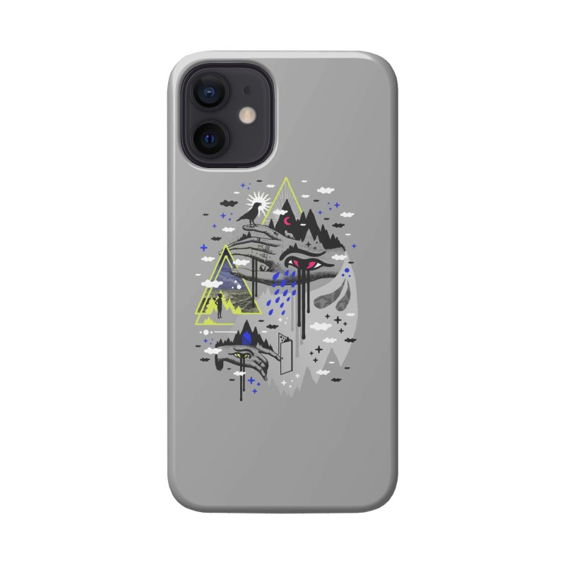 Dimensional Awareness Accessories Phone Case by ordinaryfox