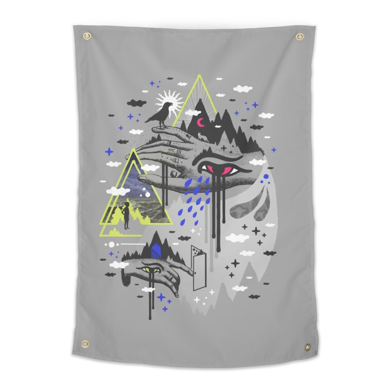 Dimensional Awareness Home Tapestry by ordinaryfox