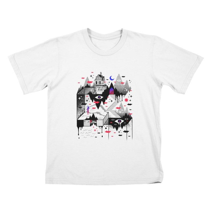 Abysm Kids T-Shirt by ordinaryfox