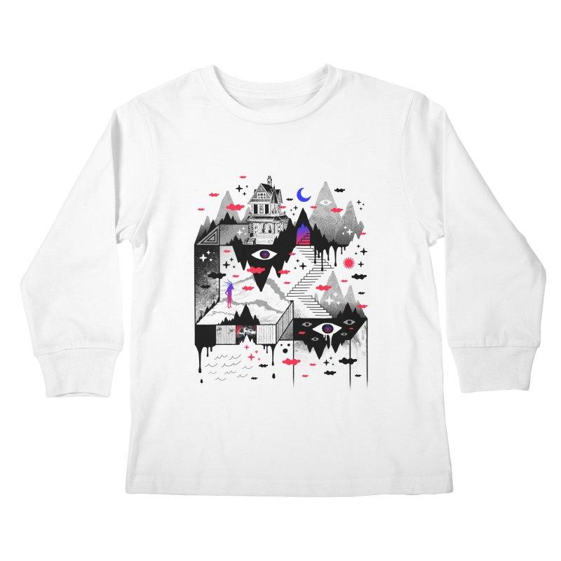Abysm Kids Longsleeve T-Shirt by ordinaryfox