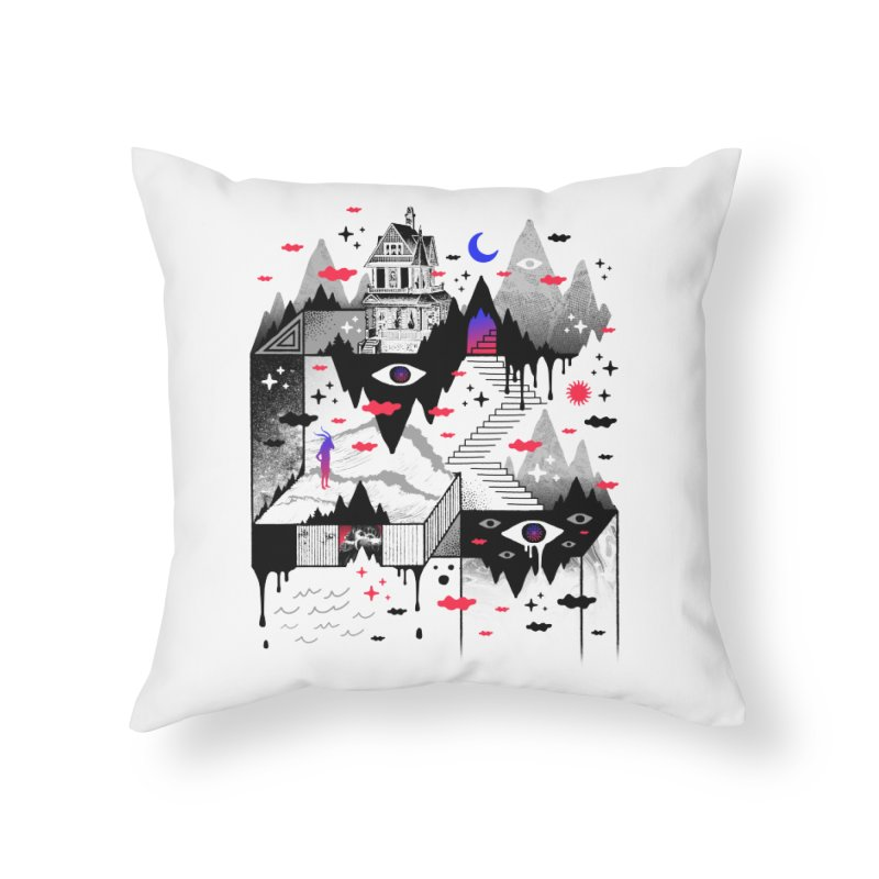 Abysm Home Throw Pillow by ordinaryfox