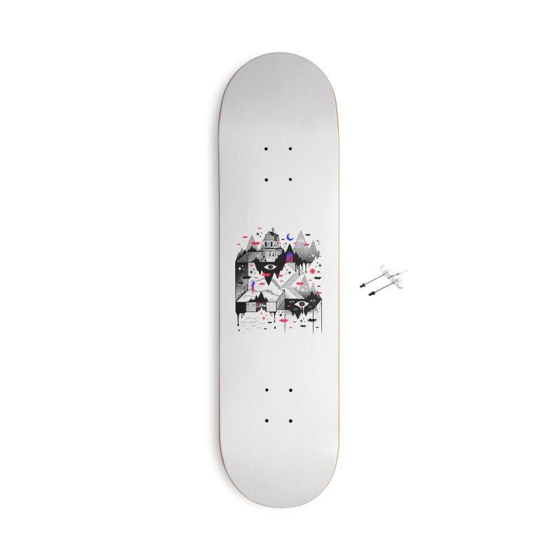 Abysm Accessories Skateboard by ordinaryfox