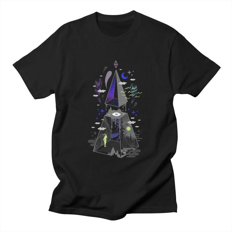 Pyramid Scheme Men's T-Shirt by ordinaryfox