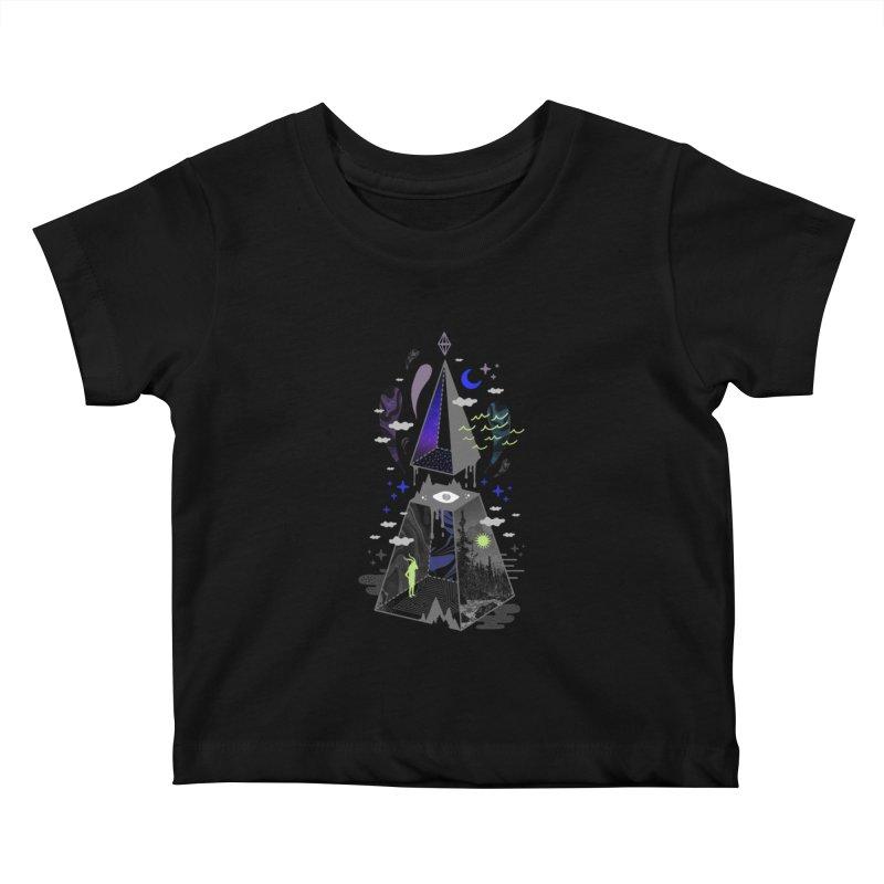 Pyramid Scheme Kids Baby T-Shirt by ordinaryfox