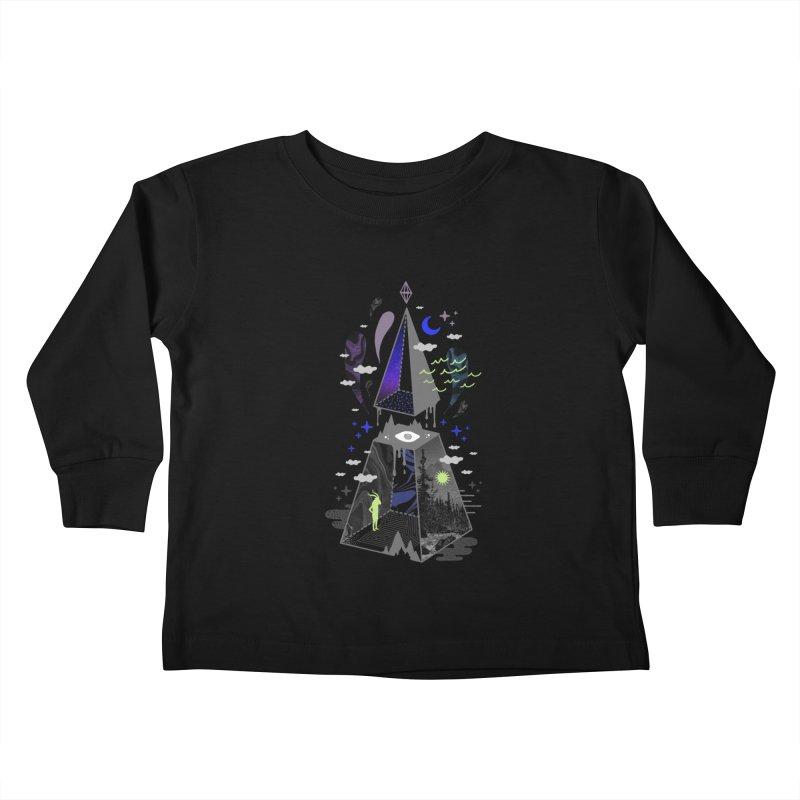 Pyramid Scheme Kids Toddler Longsleeve T-Shirt by ordinaryfox