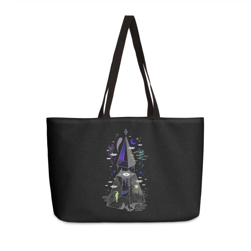 Pyramid Scheme Accessories Bag by ordinaryfox