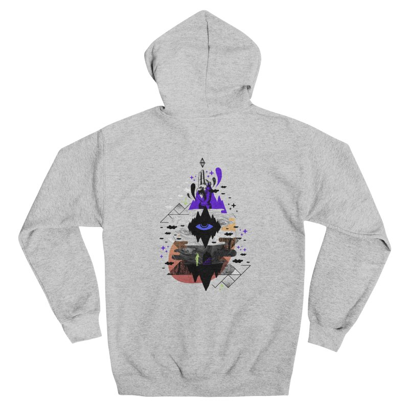 Ascended Men's Zip-Up Hoody by ordinaryfox